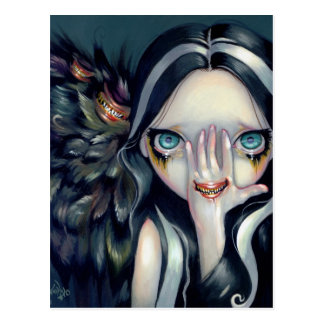 """Speak No Evil"" Postcard"