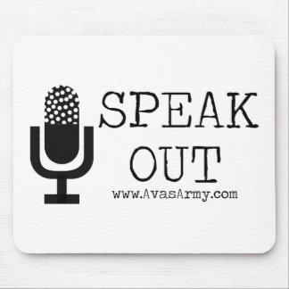 Speak Out Mouspad Mouse Pad
