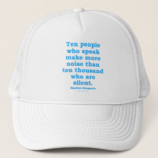Speak Out Trucker Hat