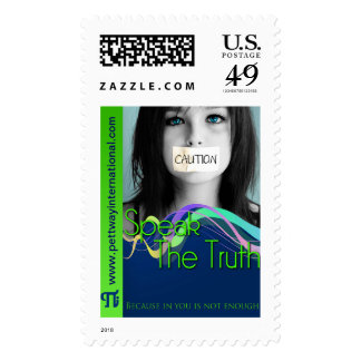 Speak The Truth Postage Stamps