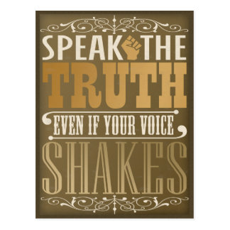 Speak the Truth Postcards
