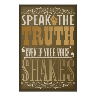 Speak the Truth Poster
