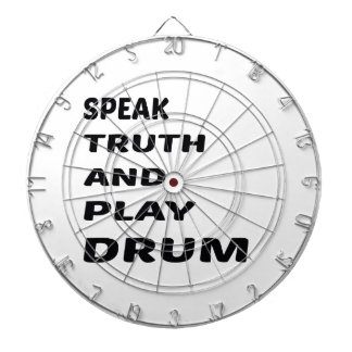 Speak Truth and play Drum Dartboard