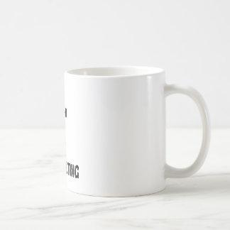 Speak Truth and play Pole Vaulting. Coffee Mug