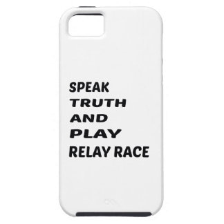 Speak Truth and play Relay Race. iPhone SE/5/5s Case