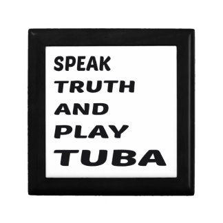 Speak Truth and play Tuba Gift Box