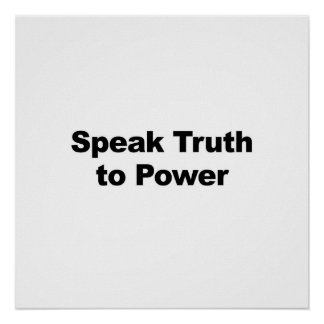 Speak Truth to Power Poster
