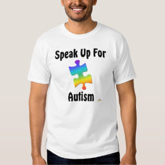 Speak Up For Autism Tee Shirt