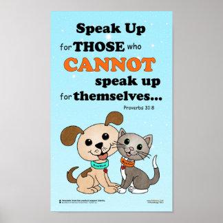 Speak up for those ... (BowWow & MeeYow) Poster