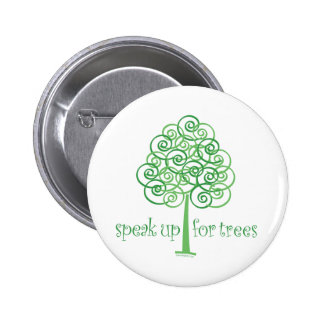 Speak Up for Trees - Tree Hugger 2 Inch Round Button