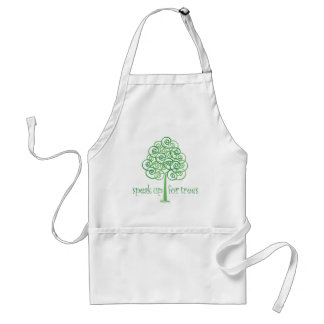 Speak Up for Trees - Tree Hugger Adult Apron