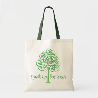 Speak Up for Trees - Tree Hugger Tote Bag