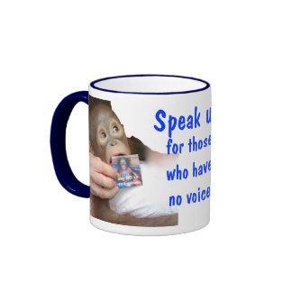 Speak Up for Wildlife Mug