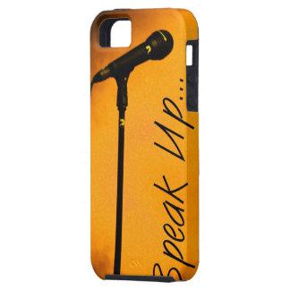 Speak Up, Mike, Trendy Style, Art iPhone SE/5/5s Case