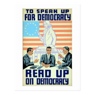 Speak Up: Read Up Postcard