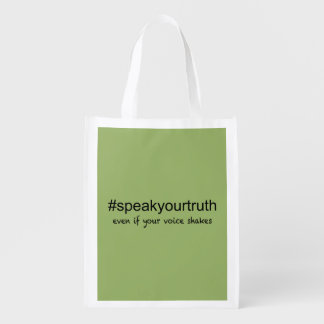 Speak Your Truth Grocery Bag