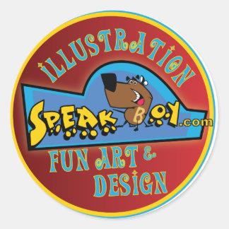speakboy.com sticker