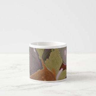 Speakeasy design 6 oz ceramic espresso cup