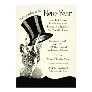 Speakeasy Roaring 20 s New Year s Eve Party Announcements