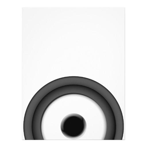 """Speaker 8.5"""" X 11"""" Flyer"""