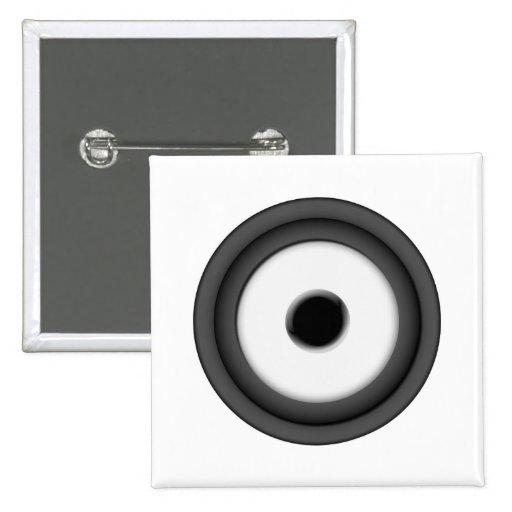 Speaker Pinback Buttons