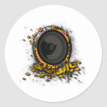 Speaker Graffiti - DJ Music Loud Party Clubbing Stickers