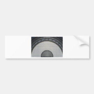 Speaker Grille Closeup Bumper Sticker