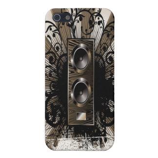 Speaker Grunge iPhone SE/5/5s Cover