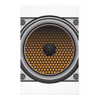 speaker icon stationery