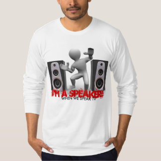 Speaker- Long Sleeve T-Shirt
