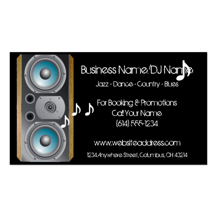 Music Business Cards - spotnature.tk