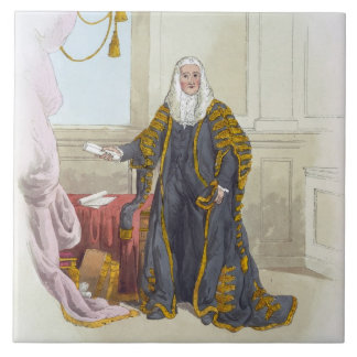 Speaker of the House of Commons, from 'Costume of Tile