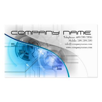 Speaker or  Sound Recording Business Card Template