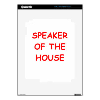 speaker iPad 2 skin