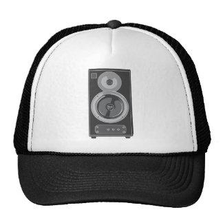 Speaker Stereo Music Audio Retro Vintage Mesh Hat