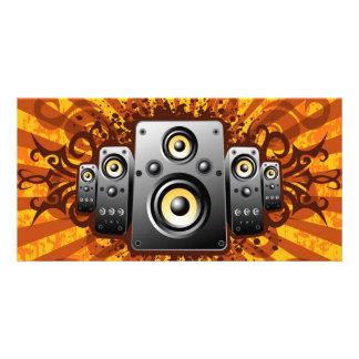 speaker vector card