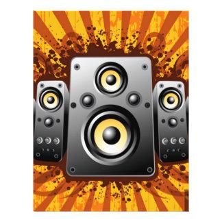 speaker vector flyer