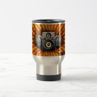 speaker vector travel mug