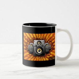 speaker vector Two-Tone coffee mug