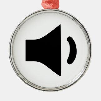 Speaker Volume Ornaments