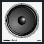 "Speaker Wall Sticker<br><div class=""desc"">Cool sub-woofer Speaker sticker.</div>"