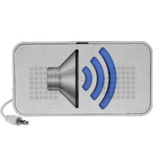 Speaker With Sound Icon