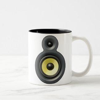 SpeakerMug Two-Tone Coffee Mug