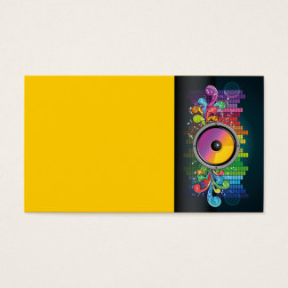 speakers-258175 COLORFUL RETRO RAINBOW SPEAKERS PA Business Card
