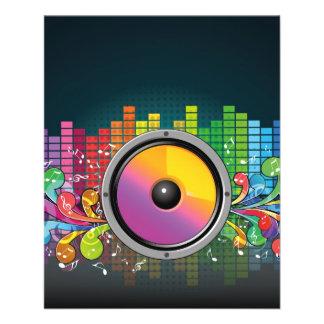 speakers-258175 COLORFUL RETRO RAINBOW SPEAKERS PA Flyer