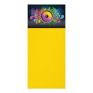 speakers-258175 COLORFUL RETRO RAINBOW SPEAKERS PA Rack Card