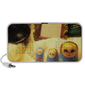 speakers matryoshka babushka russia girl