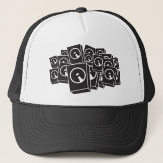 Speakers - Music DJ DJing Disc Jockey Trucker Hat