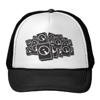 Speakers - Music DJ DJing Disc Jockey Trucker Hat