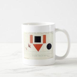 Speakers on Tribune by Kazimir Malevich Classic White Coffee Mug